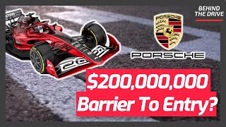 The New $200,000,000 Barrier To Entry In Formula 1