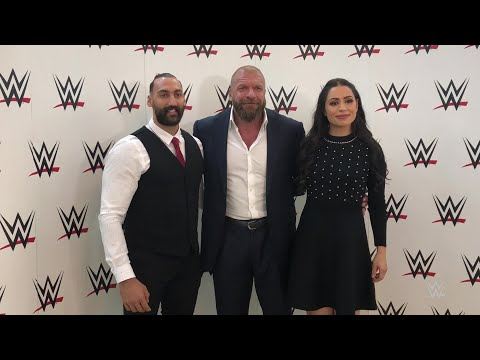 Triple H welcomes Nasser Alruwayeh and Shadia Bseiso in Abu Dhabi