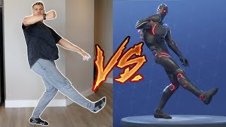 FORTNITE DANCE CHALLENGE IN REAL LIFE