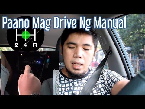 paano mag drive ng manual hugot