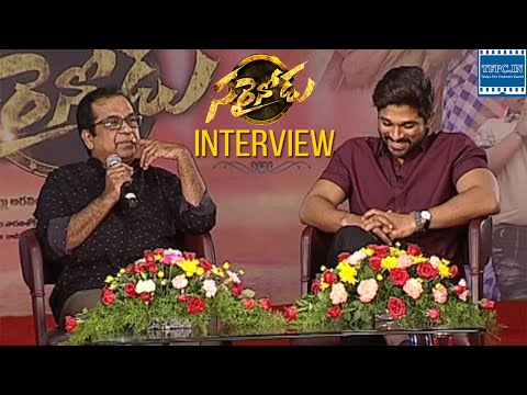 Sarrainodu Funny Interview About Movie...
