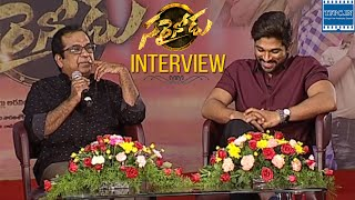 Sarrainodu Funny Interview About Movie Success | Brahmanandam, Allu Arjun, Boyapati | TFPC