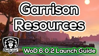 Garrison Resources Farming Guide - Warlords Of Draenor