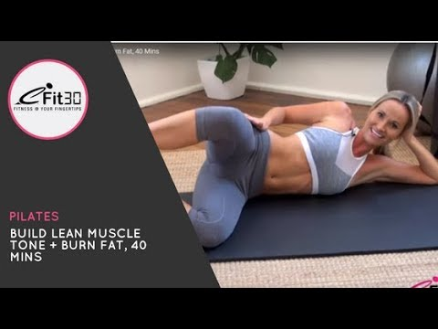 Dynamic Pilates Workout - 40 Minute Full Body Challenge