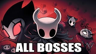 Hollow Knight - All Bosses (With Cutscenes) HD 1080p60 PC