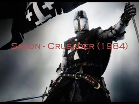 Saxon - Crusader (1984) with lyrics.