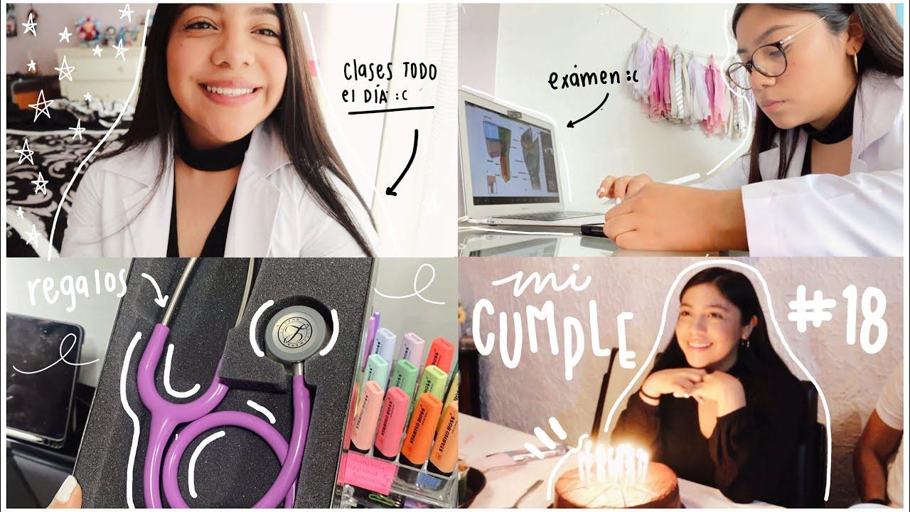 ESTUDIANDO EN MI CUMPLEAÑOS 18 😫 (clases, exámenes, regalos) 🤍 Carola Study