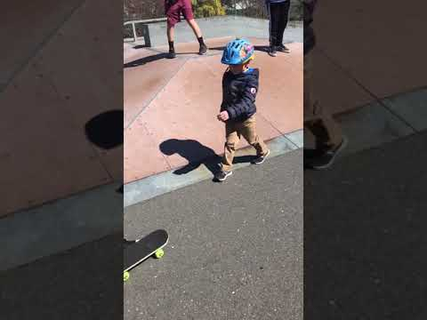 Heartwarming video shows teens teaching boy with autism to skateboard