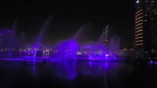 World's largest fountain with the combination of light, water and fire.