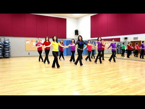 The Older I Get - Line Dance (Dance & Teach in English & 中文)
