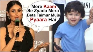 Kareena Kapoor's BEST Reply On IGNORING Baby Taimur Ali Khan's Upbringing Over Her HIT Career