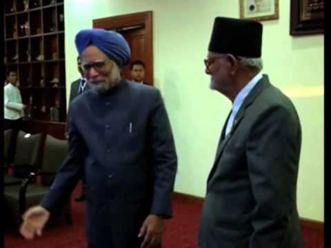 03 Mar, 2014 - Indian PM Meets His Nepal Counterpart In Myanmar