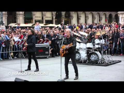 """POOH: backstage video """"Chi fermerà la musica"""" a Milano"""