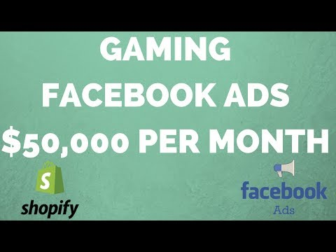 $50k Per Month Selling Gaming Gear w/ Shopify & Facebook Ads