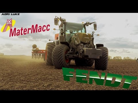 Fendt Vario 313 BB Big Tires | MaterMacc MSD 2.0-50 | Wheat Sowing | Spektra Agri