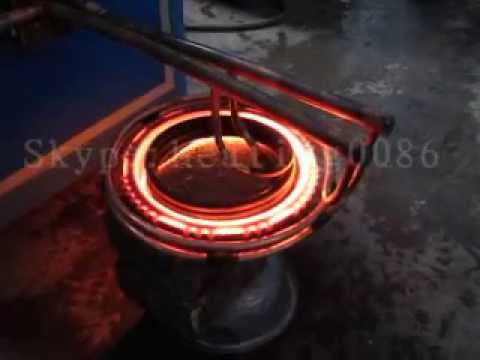 Fast heating energy saving high frequency induction heating / forging gear and metal products