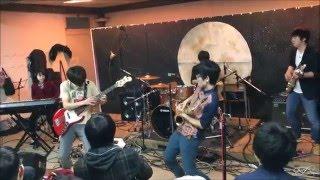 2015年度部長バンド sax 清酒悠平 gt 笠翔馬 key 鈴木瑤子 ba 中山太一 ...