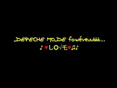 Depeche Mode - cover me (with lyrics)