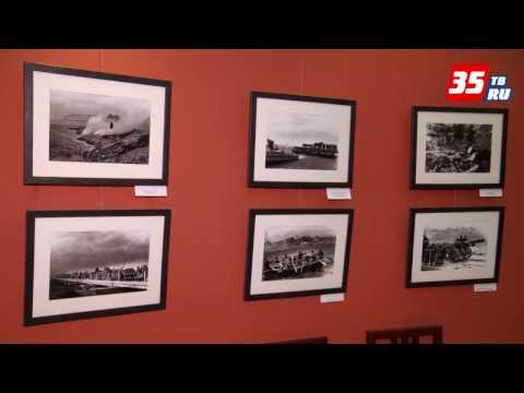 Выставка военного фотокорреспондента Петра Сотникова открылась в Вологодском кремле