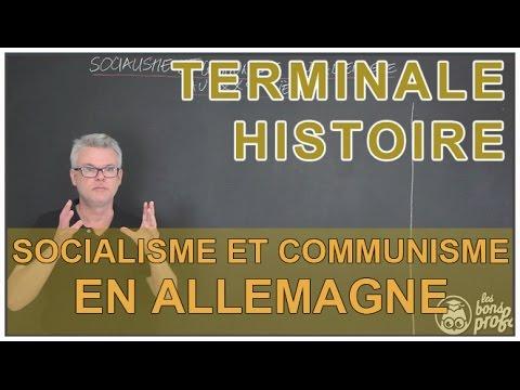 Socialisme et communisme en Allemagne - Histoire-Géo - Terminale - Les Bons Profs
