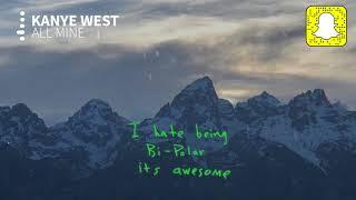 Kanye West - All Mine (Clean)
