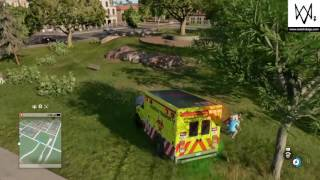 Watch dogs2 crashes 2