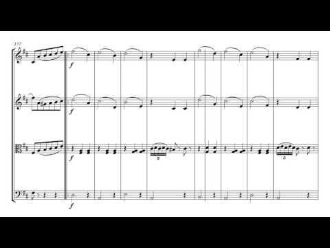Tchaikovsky Waltz of the Flowers | String Quartet Sheet Music