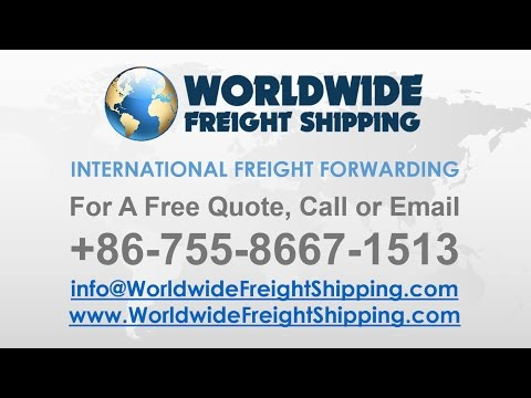 Worldwide Freight Shipping from China to USA & UK - Ocean, Road & Air Freight Services