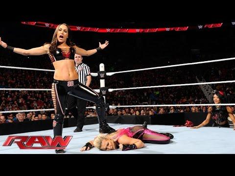 Natalya vs. Brie Bella: Raw, January 18, 2016