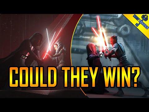 Could Darth Maul and Ahsoka Really Destroy Sidious and Darth Vader? - 동영상