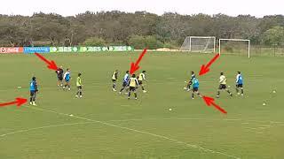 5x5  Sporting Lisbon Football Training