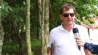 Vereador Carlos Trigo está preocupado com erosão próxima à Cohab II