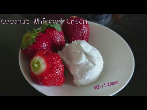 Coconut Whipped Cream (Dairy Allergies)