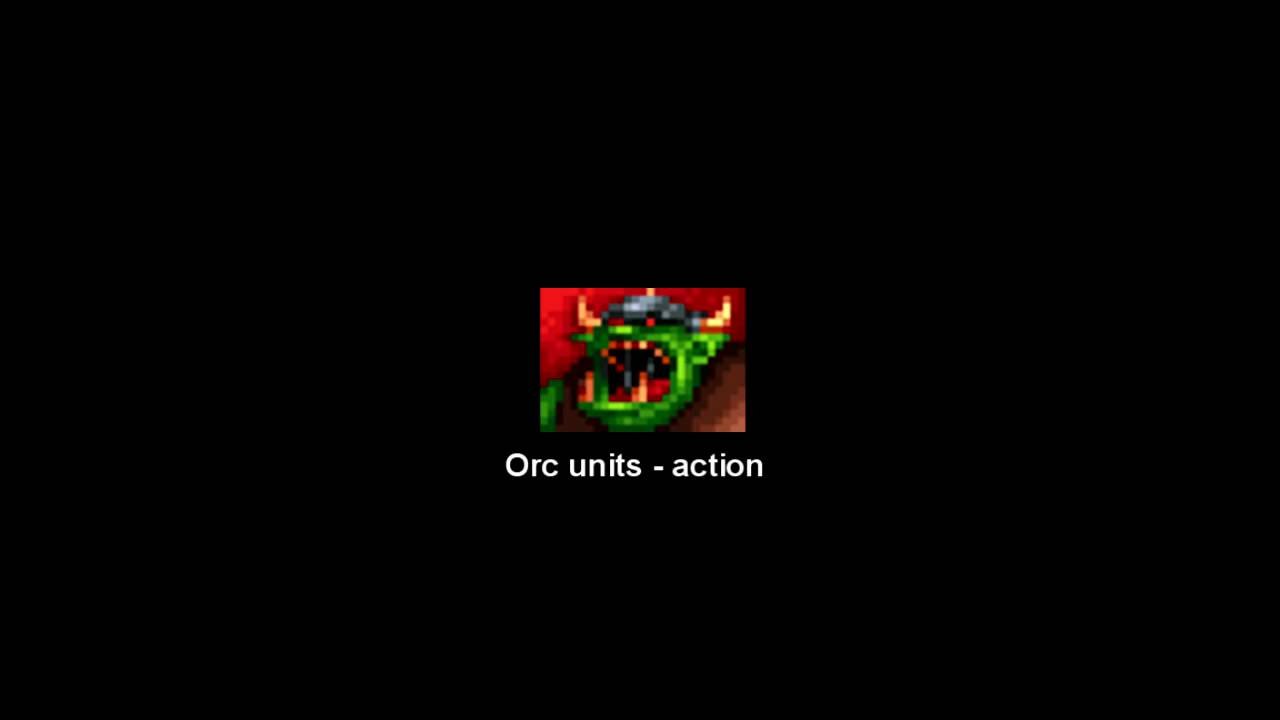 Warcraft Orcs Humans Unit Quotes And Sound Effects Youtube