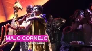 Entrevista Majo Cornejo cantante leader en LUZIA - Cirque Du Soleil 2016