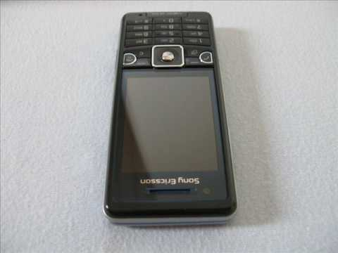 Sony Ericsson C510 future black