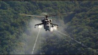 Сирия  Ми 24 ВКС России уничтожают позиции ИГИЛ