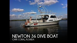 Used 2011 Newton 36 Dive Boat for sale in Cape Coral, Florida