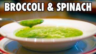 Broccoli and Spinach Soup Recipe   SUPER VEGGIE SOUP!