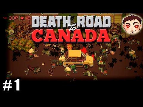 Death Road to Canada #1 - ¡CAMBIO ALIMENTOS POR ANIME!