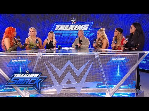 Women's Money in the Bank Ladder Match participants talk trash: WWE Talking Smack, May 30, 2017