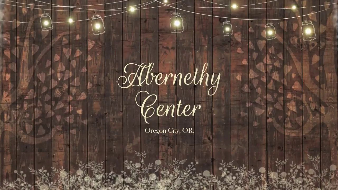 Abernethy Center - Wedding Venue - Oregon City, OR. - YouTube
