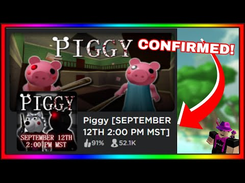 Roblox Piggy Game Icon Roblox Piggy Book 2 Release Date Offcial Youtube