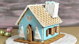 GINGERBREAD HOUSE for CHRISTMAS by HANIELA