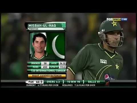 Misbah Ul Haq match Winning innings vs Sri Lanka