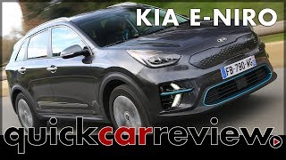 2018 Kia e-Niro test drive with the electric Kia Niro | Review | Cars | English