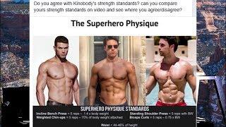 The Kinobody Superhero Physique Strength Standards?!!!