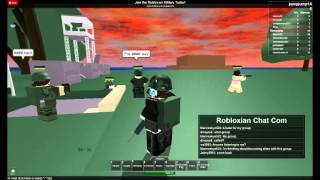 ROBLOX - RM Robloxian Military - JOIN MAINTENANT