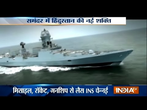 INS Chennai, India's Largest Indigenous Missile Destroyer, to be Commissioned into Navy