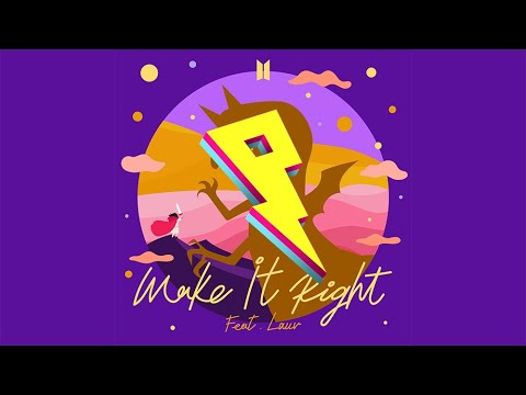 BTS (방탄소년단) 'Make It Right (ft. Lauv)' [AZWZ Remix]